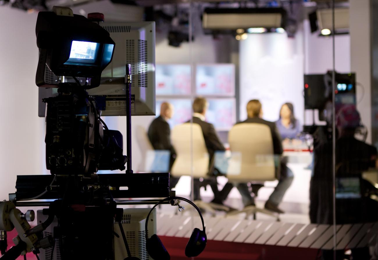 Plateau de télévision - Institut Pasteur