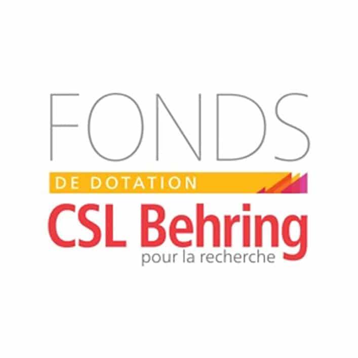 Fonds de dotation CSL Behring Mécènat - Institut Pasteur