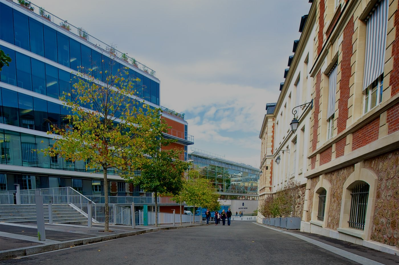 A campus in the heart of the French capital - Institut Pasteur
