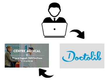 Doctolib - Centre médical
