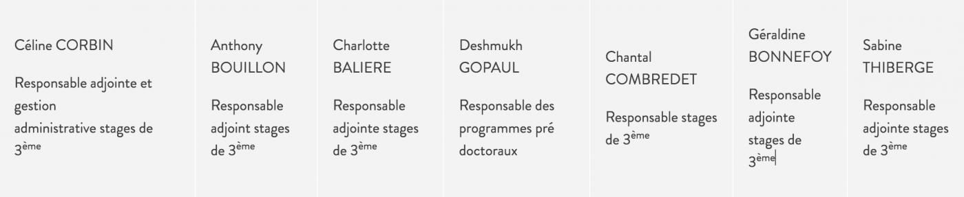 Stage De 3ème à L Institut Pasteur Institut Pasteur