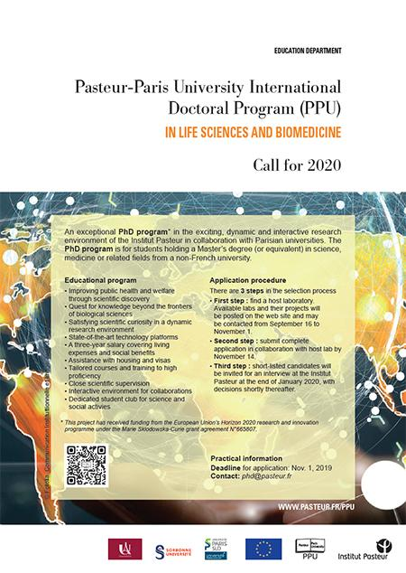 Pasteur Paris University International Doctoral Program