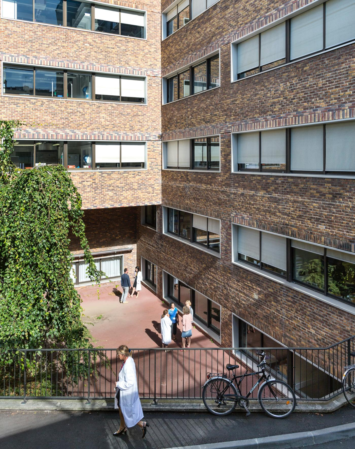 Bâtiment Metchnikoff - Institut Pasteur