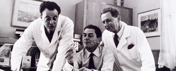 50 ans après le Prix Nobel : Jacob, Lwoff et Monod, fondateurs de la biologie moléculaire