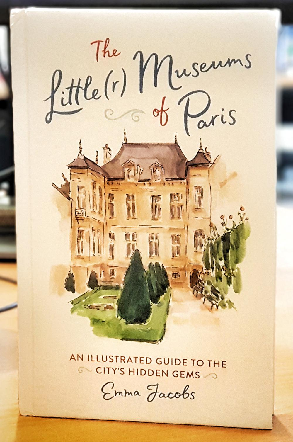 Cover of the book Little(r) Museums by Emma Jacobs, Running Press.