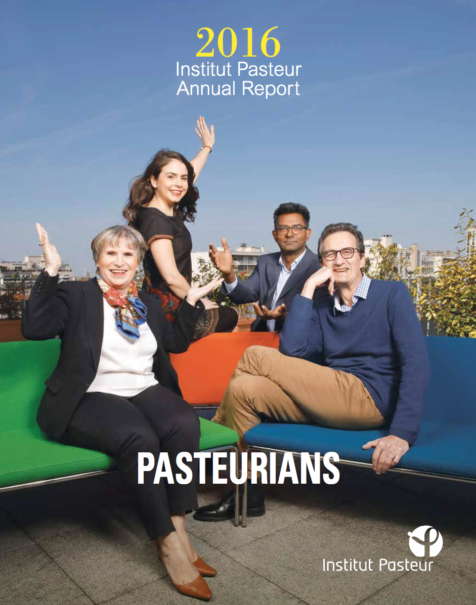 Picture of the 2016 Institut Pasteur Annual Report - Institut Pasteur