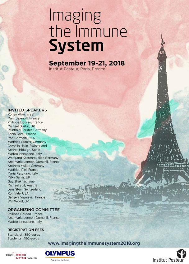 IMAGING THE IMMUNE SYSTEM conference - Institut Pasteur