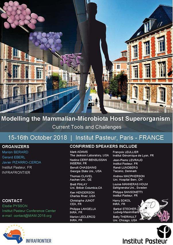 Modeling the Mammalian Microbiota Host Superorganism- Centre de conférence - Institut Pasteur