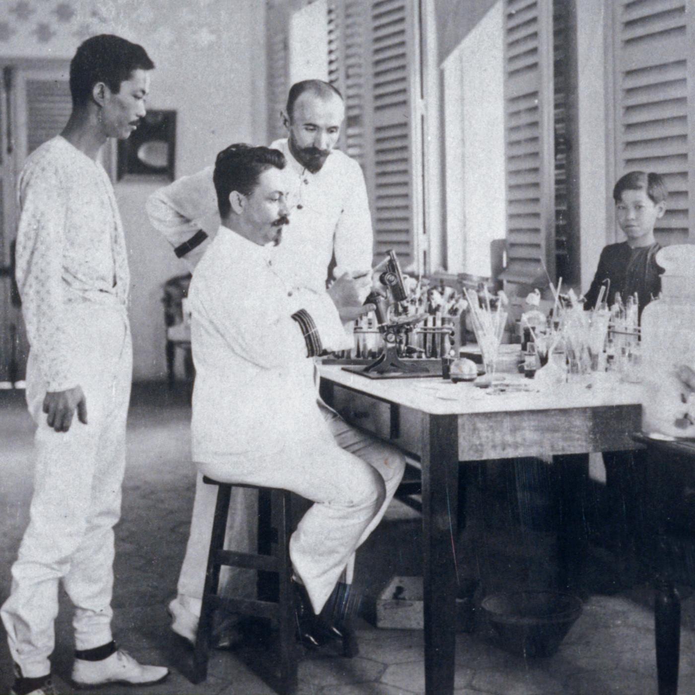 The Institut Pasteur has demonstrated its international vocation since its very creation