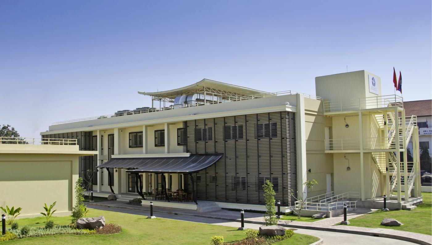 Vue de l'Institut Pasteur du Laos, inauguré le lundi 23 janvier 2012 - Institut Pasteur