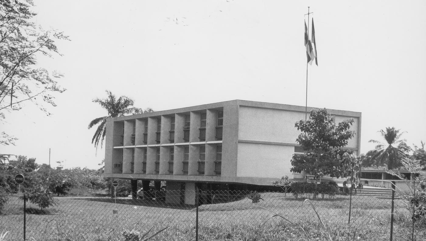 Institut Pasteur de Bangui en 1963 - Institut Pasteur