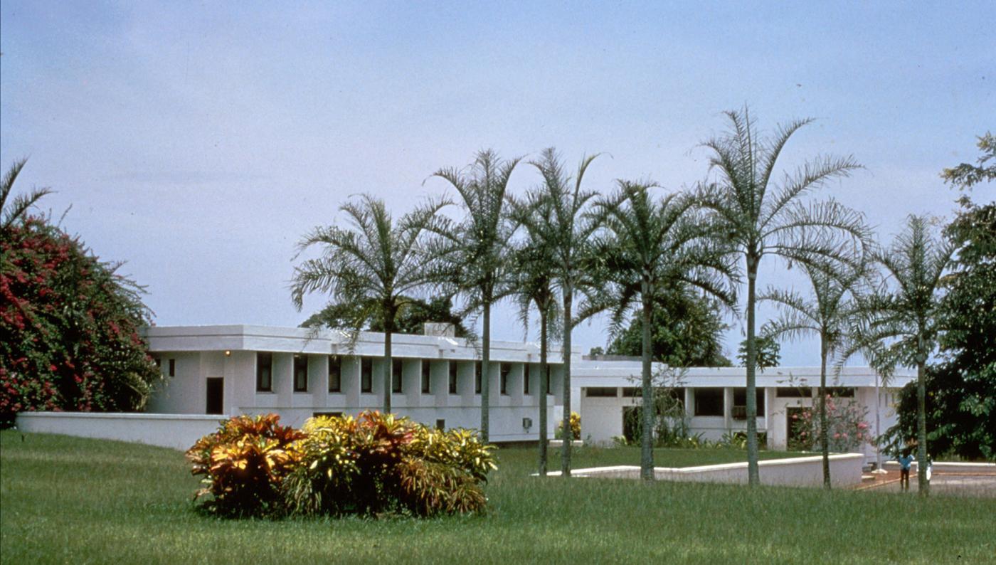 Institut Pasteur de Côte d'Ivoire en 1999 - Institut Pasteur
