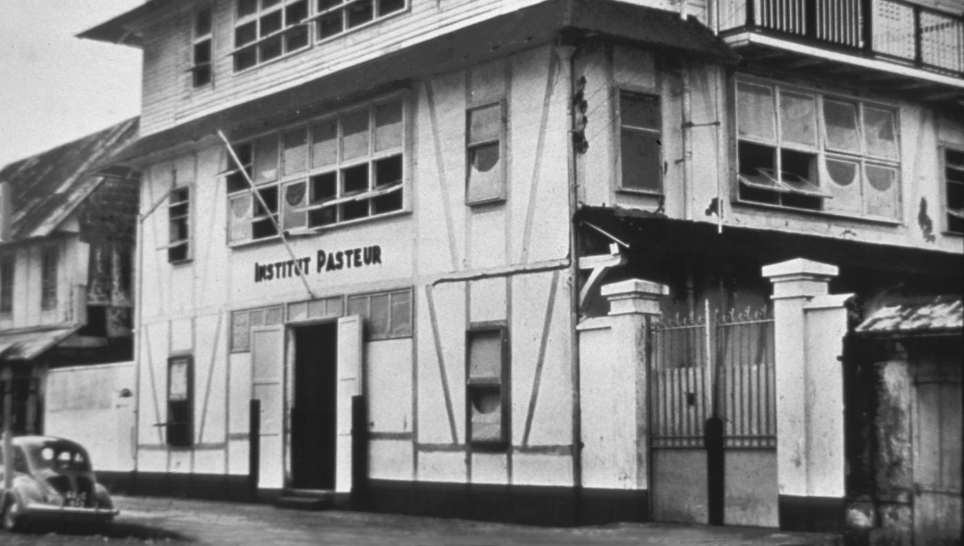 Institut Pasteur de la Guyane française en 1940 - Institut Pasteur