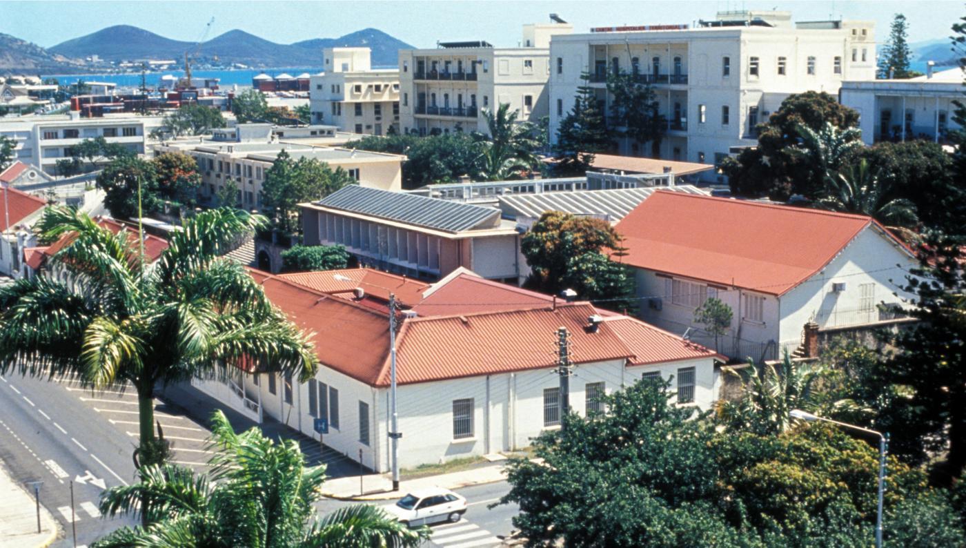 Institut Pasteur de Nouvelle- Calédonie en 1995 - Institut Pasteur