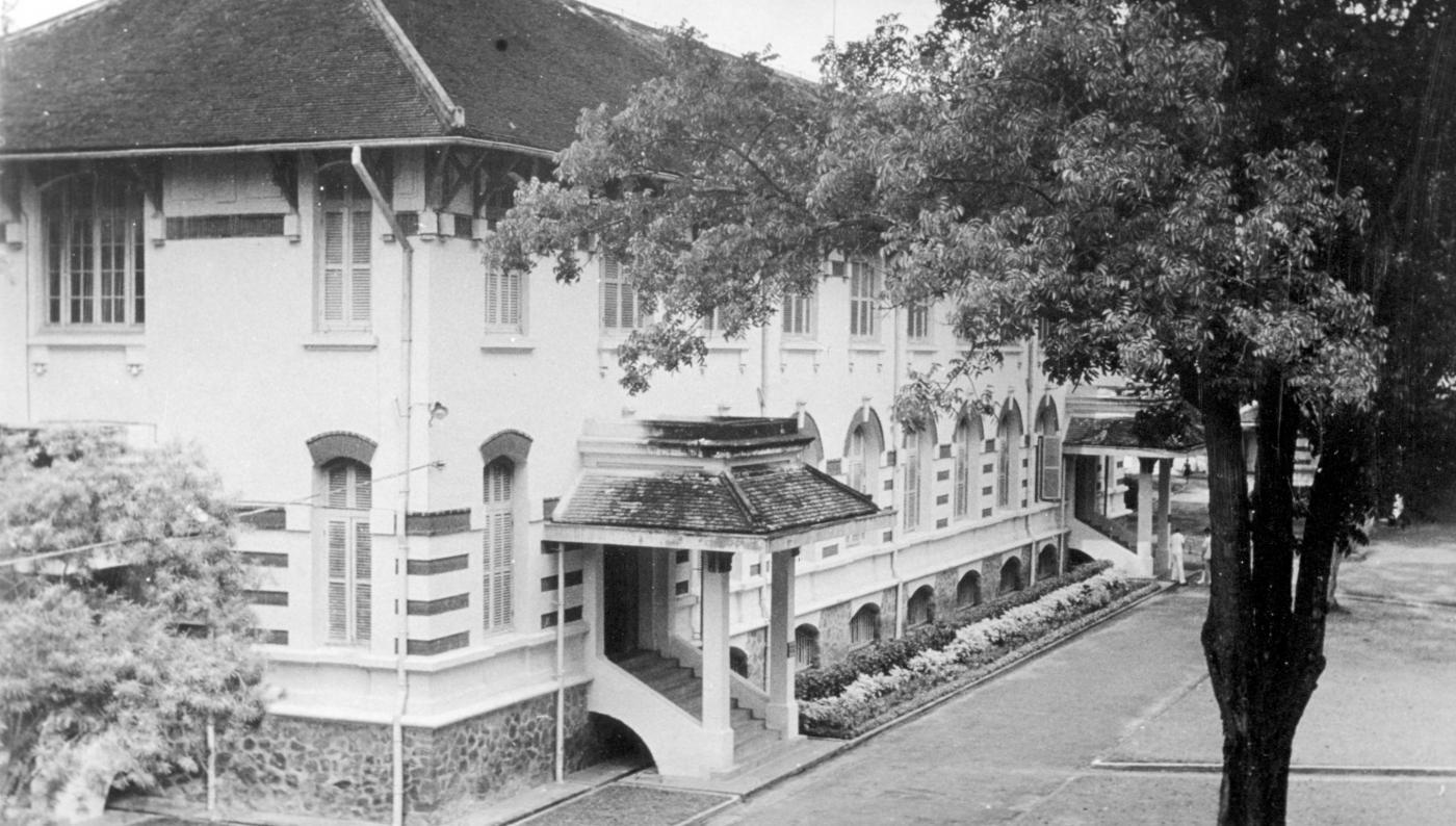 Bâtiment de l'Institut Pasteur de Saïgon en 1930 - Institut Pasteur