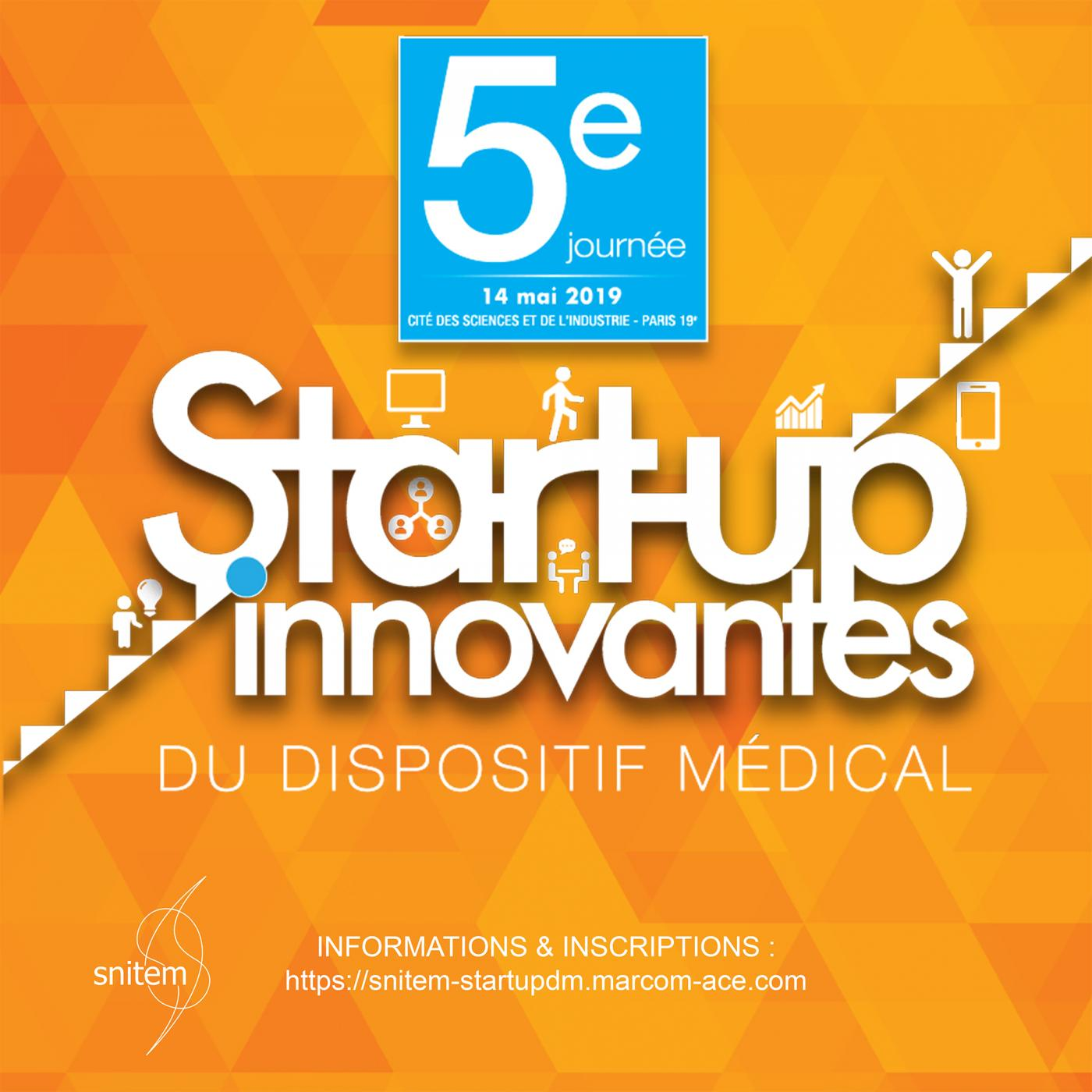 5ème journée start-up innovantes du dispositif médical