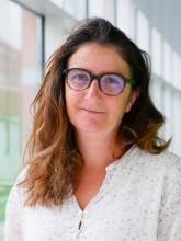 Nathalie Aulner, responsable de la plateforme PBI - Institut Pasteur