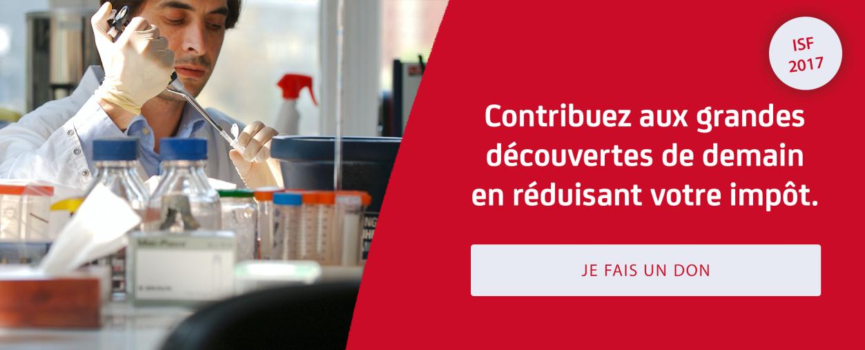 Réduire son ISF 2017 - Institut Pasteur