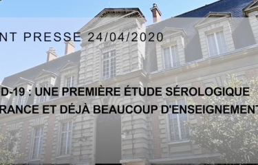 Conférence de presse du 24/04/2020