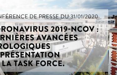 Coronavirus 2019-nCoV : dernières avancées virologiques et présentation de la Task Force - Institut Pasteur