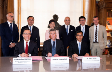 HKU to Collaborate on Biomedical Innovation with the Institut Pasteur and Hong Kong Science and Technology Parks Corporation - Institut Pasteur