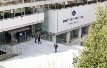 Parvis du CIS - Institut Pasteur