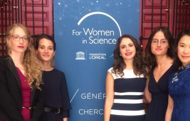Cinq chercheuses de l'Institut Pasteur reçoivent une bourse L'Oréal-UNESCO - Institut Pasteur
