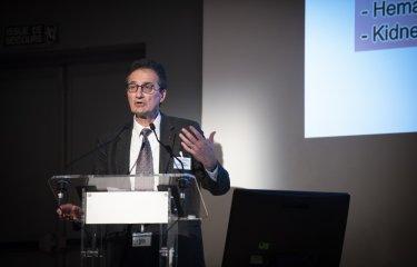 Philippe Sansonetti, professeur au Collège de France et professeur émérite à l'Institut Pasteur