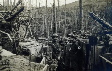 tranchées - première guerre mondiale - Institut Pasteur