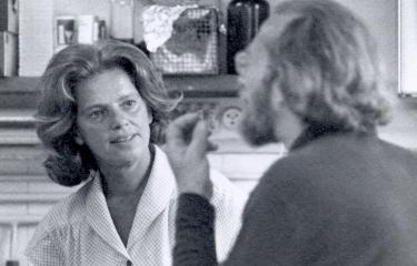 Agnès Ullmann et David Perrin en 1970 - Institut Pasteur