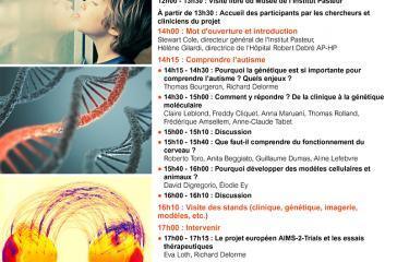 Journée de l'autisme 2019 - Institut Pasteur