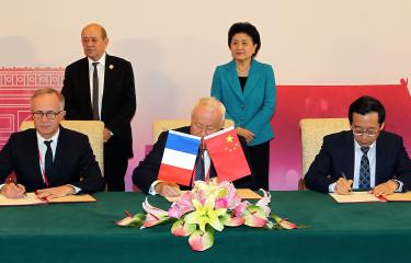 Signature G4 Chine - Réseau internationale des instituts Pasteur