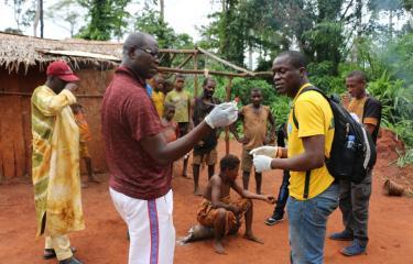 Mission d'investigation d'experts de l'Institut Pasteur de Bangui autour d'un cas de Monkeypox dans un village pygmée à Toma dans la commune de Ndolobo en juin 2017