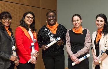 5 jeunes doctarantes du Réseau international des Instituts Pasteur
