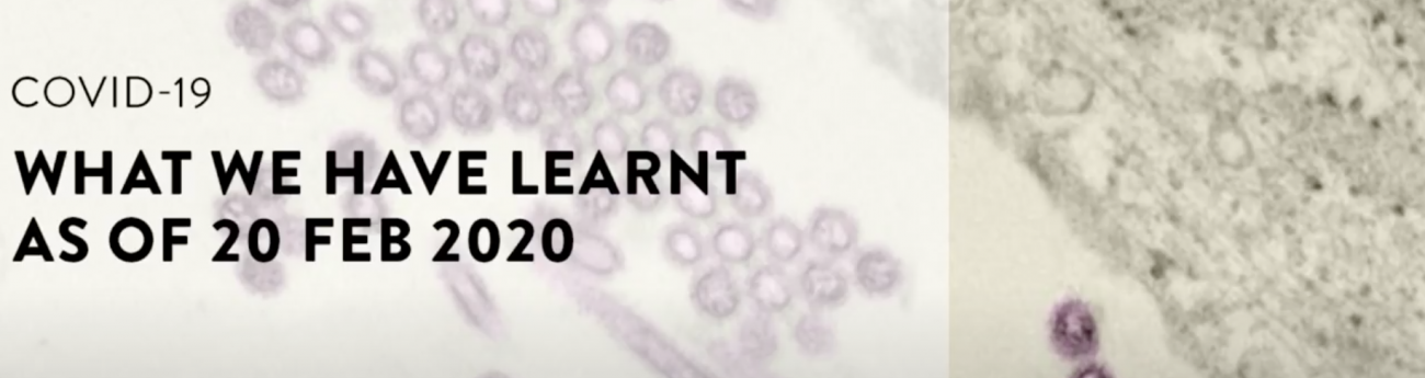 Covid-19 : What we have learnt as of 20 February 2020 - Institut Pasteur