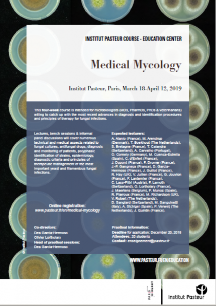 Flyer 2018-2019 Medical Mycology